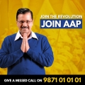Buoyed By Delhi Results AAPs Missed Call Request to join party