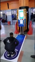 Free platform ticket for few minutes workouts at Delhi railway station