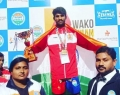 Ganesh Wins Gold Medal In Kick Boxing With the help of Vijay Devarakonda