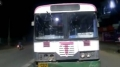 TSRTC bus theft by unidentified man in Telangana