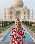 Ivanka Trump visits Taj Mahal