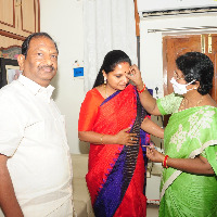 kavita visits koppula home