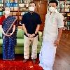 Tamilnadu CM Stalin Meets Sonia and Rahul