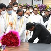 Siddipet and kamarreddy collectors taken blessings from cm kcr