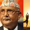 Yoga originated in Nepal not in India claims Nepal PM Oli