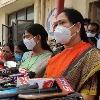 AP Ministers Sucharitha and Vanita visits Gaga Rape Victim