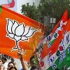 tmc workers rejoined in party after leaving BJP by sprinkling gangajal on head to atone