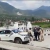 SP and a security officer fights in front of CM in Himachal Pradesh
