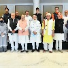 Jammu Kashmir all party meeting in PM Modi residence concludes
