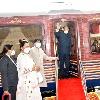Ram Nath Kovind aboard on train to go Kanpur