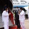 Venkaiah Naidu arrives Visakhapatnam for four day visit