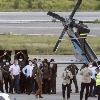 Colombian President Says Helicopter Hit By Gunfire