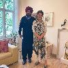 Sidhu Counters Rahul With a Photo that He meets Priyanka
