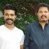 Ram Charan and Dil Raju met director Shankar