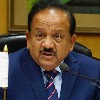 Union Health Minister Harsha Vardhan resigns