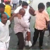 TN minister Was at Palaverkadu to inspect effects of sea erosion