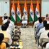 New cabinet meet concludes in Delhi