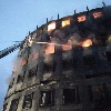 Huge fire broken out in a food factory in Bangladesh