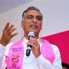 Chandrababu entering Telangana with new mask says Harish Rao