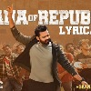 Lyrical video released from Republic movie