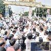 Protest against vizag steel plant privatisation