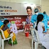 Second dose corona vaccination in Mahesh Babu adapted village