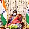 Governor Tamilisai Takes vaccine among Tribals