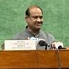 Lok Sabha Speaker Om Birla opines about disqualification petition on Raghurama Krishnaraju