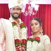 Cricketer Sivam Dubey married his girl friend