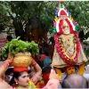 Telangana Bonam comes to Vijayawada