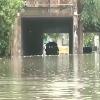 Heavy Rains Lashes Delhi As Buses and Cars Sub Merged