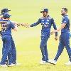 Sri Lanka registered respectable total against Team India