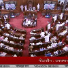 rajya Sabha Deputy Chairman Harivansh requests TMC MP Santanu Sen to withdraw from the House as he has been suspended from the House