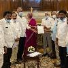 Vijayasai Reddy met union finance minister Nirmala Sitharaman