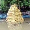 Temple submerged in Godavari water
