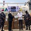 India helps corona hit Indonesia