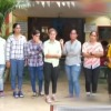 Gujarath girls collects money at Parvathipuram