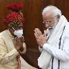Bandaru Dattatreya meets Modi