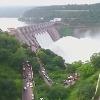 Water level increasing in Srisailam Dam