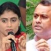Komatireddy supports YS  Sharmila