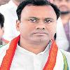 ruckus at munugodu as raja gopal reddy protest