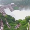 10 gates of srisailam dam lifted
