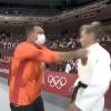 Coach slaps German judo fighter