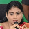 If money will be given to Megha company KCR will get commission says Sharmila