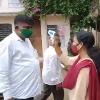 Odisha MLA Purna Chandra Swain attends tenth class exams