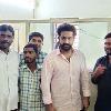 NTR spotted at Shankar Pally Tahasildar Office