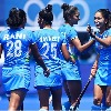 Indian hockey eves won their last league match against South Africa in Tokyo Olympics