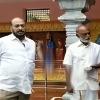 JC Prabhakar Reddy met Raghuveera Reddy