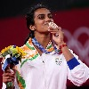 PV Sindhu receives grand welcome in Delhi