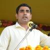 Nara Lokesh satires on Sajjala